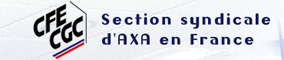 CFE CGC Sestion syndicale d'AXA en France